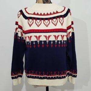 Vintage 70s Nordic Sweater